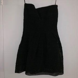 Tube Top Black Dress